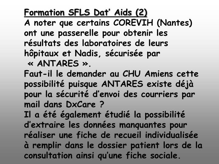 Formation SFLS Dat' Aids (2)