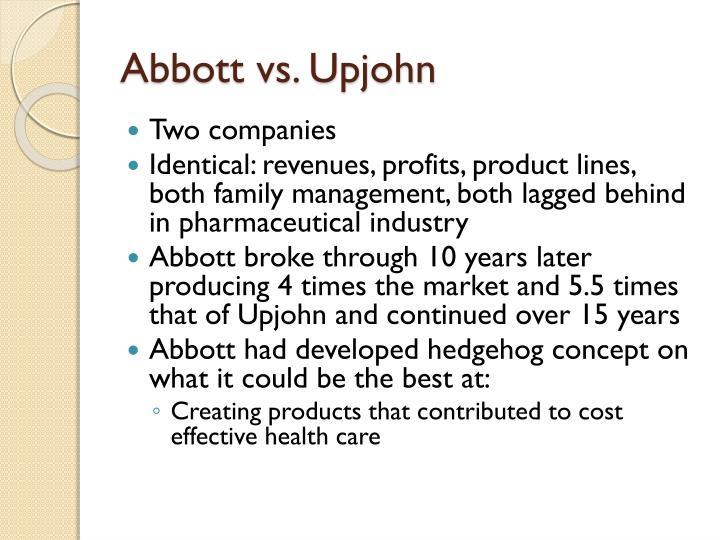 Abbott vs. Upjohn