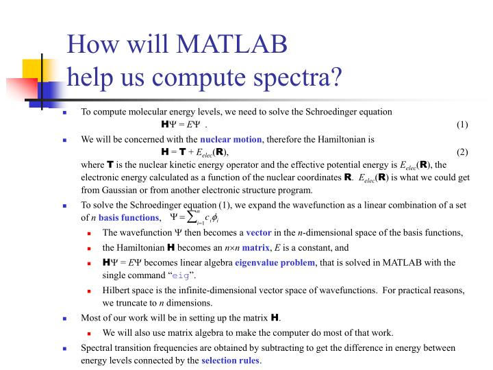 How will MATLAB
