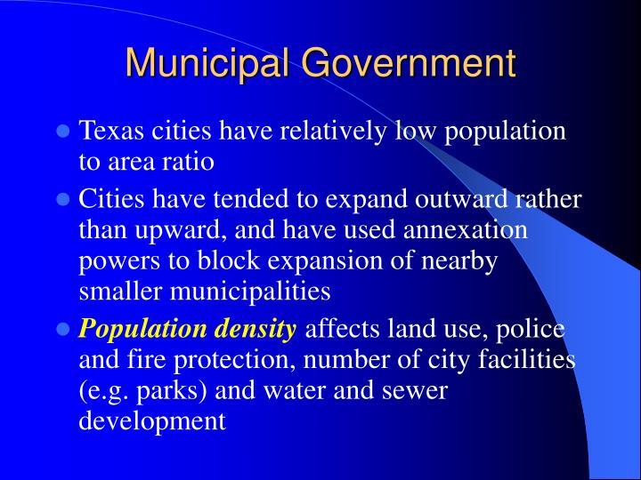 Municipal Government
