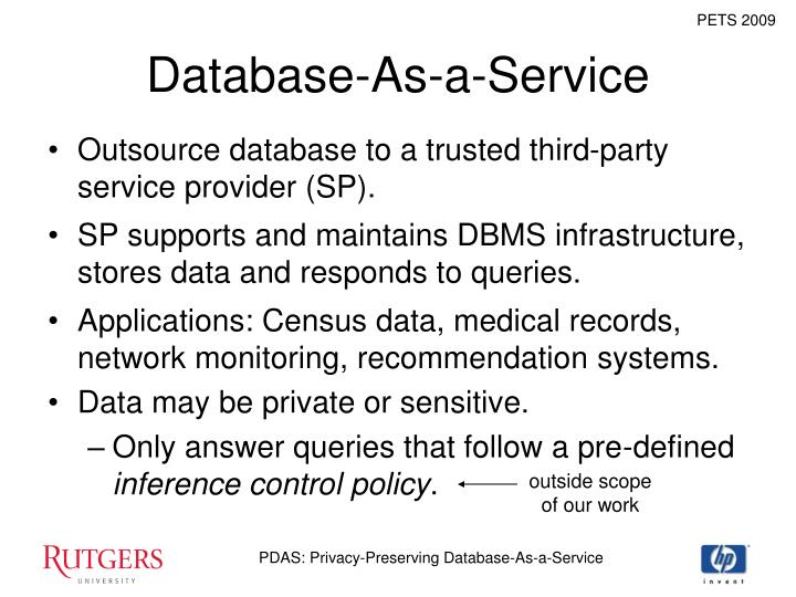 Database-As-a-Service