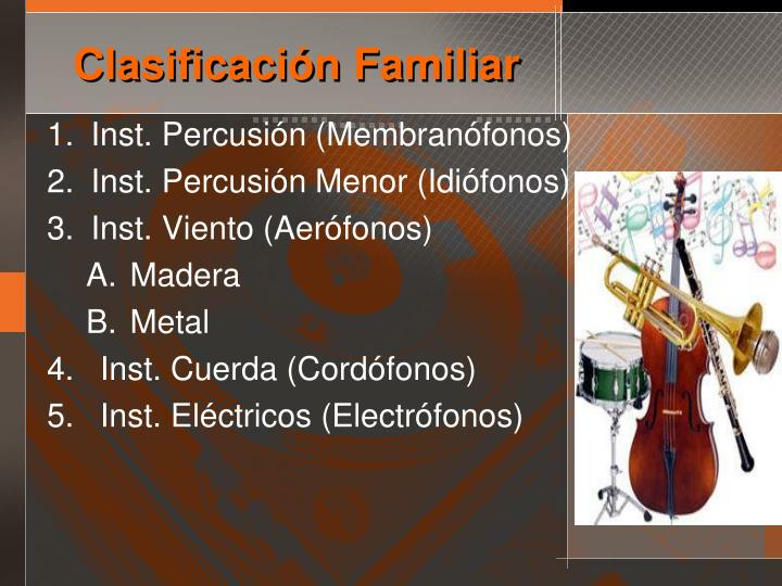Inst. Percusión (