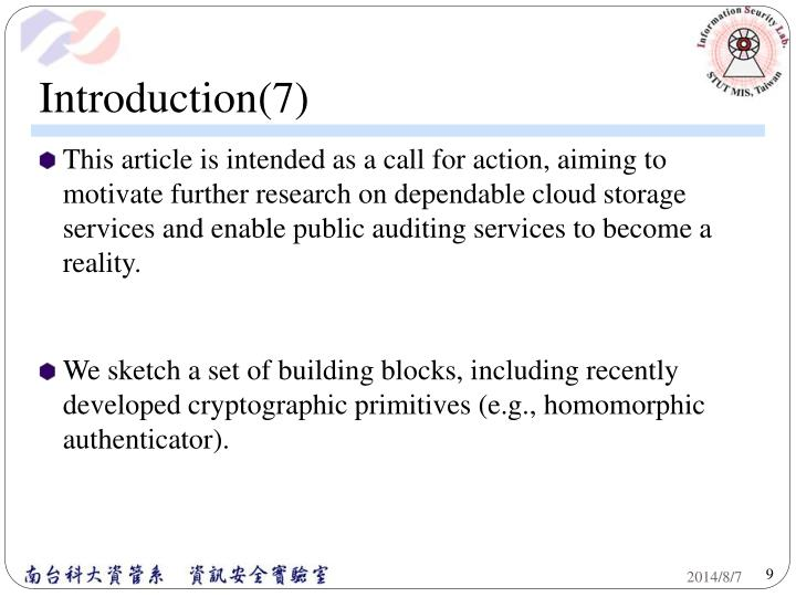 Introduction(7)