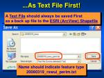 as text file first1