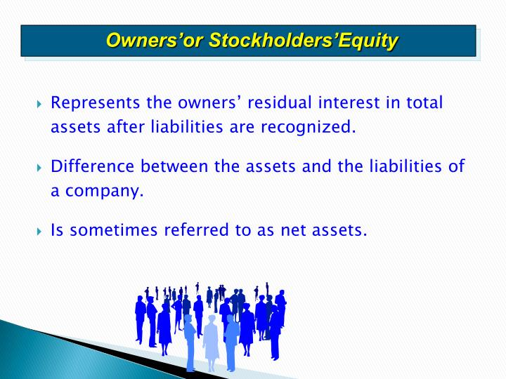 Owners'or Stockholders'Equity