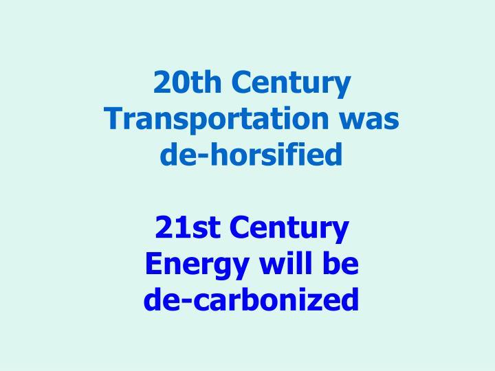 20th Century