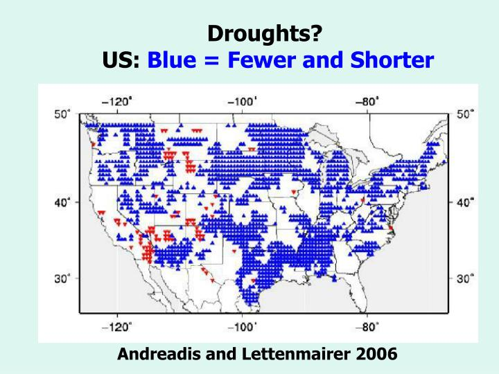 Droughts?