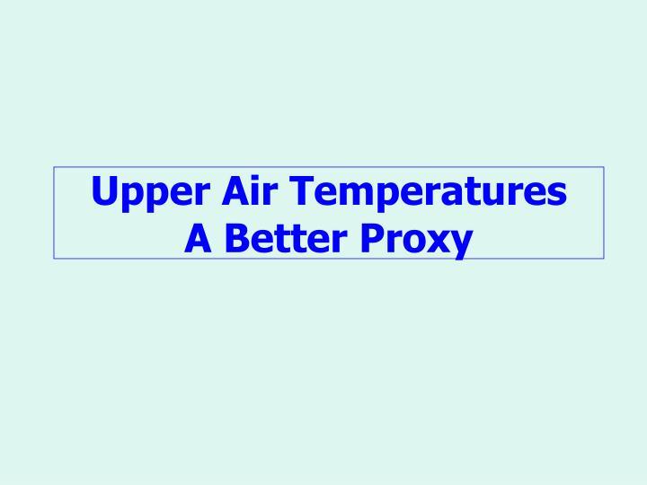 Upper Air Temperatures
