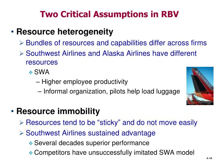 southwest resources and capabilities