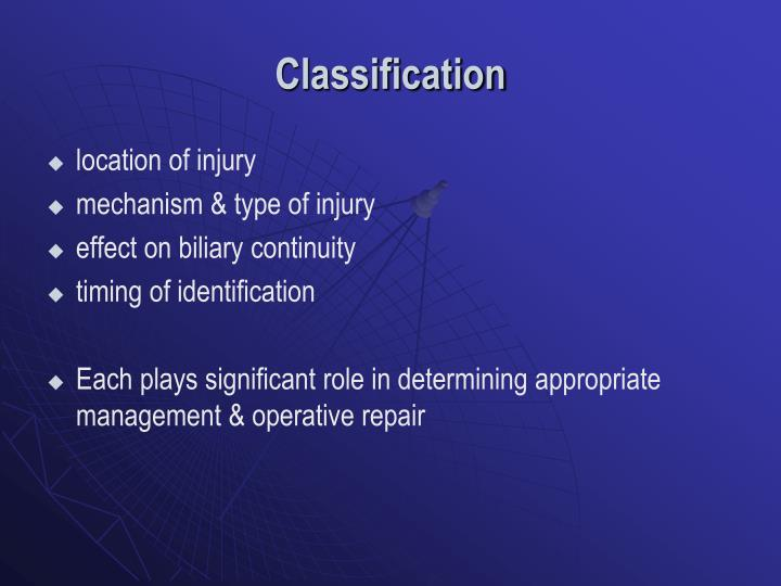 Classification