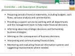 controller job description example