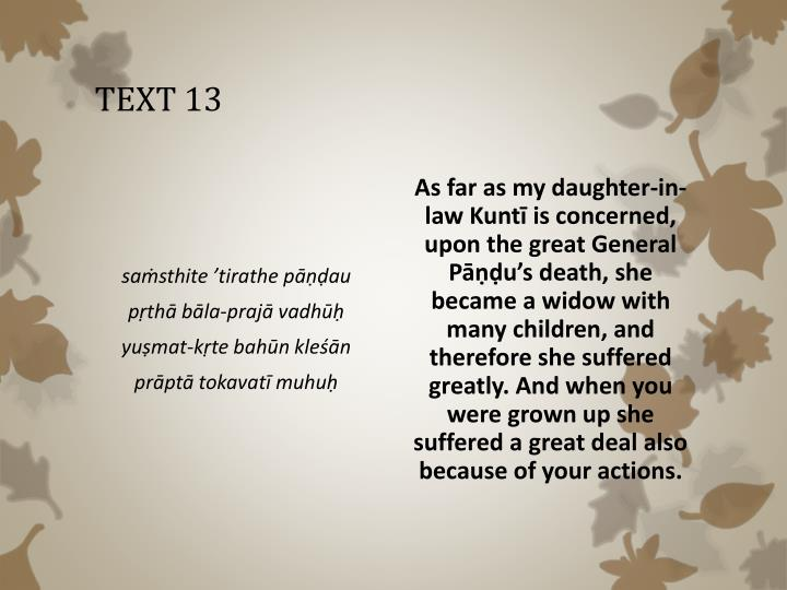 TEXT 13