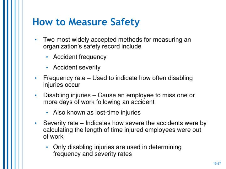 How to Measure Safety