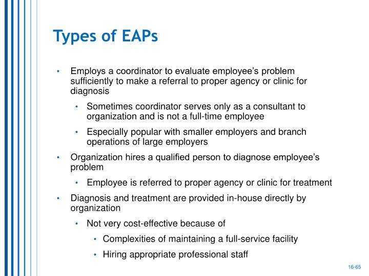 Types of EAPs