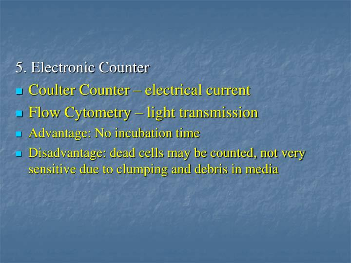5. Electronic Counter