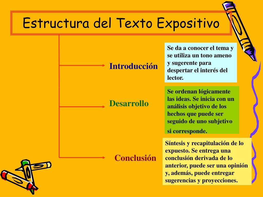 Ppt El Texto Expositivo Powerpoint Presentation Free