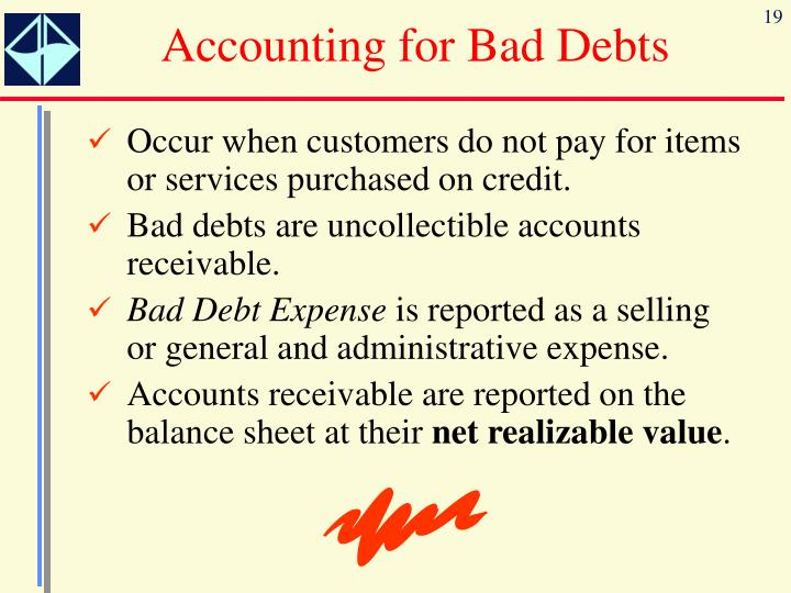 Accounting for Bad Debts
