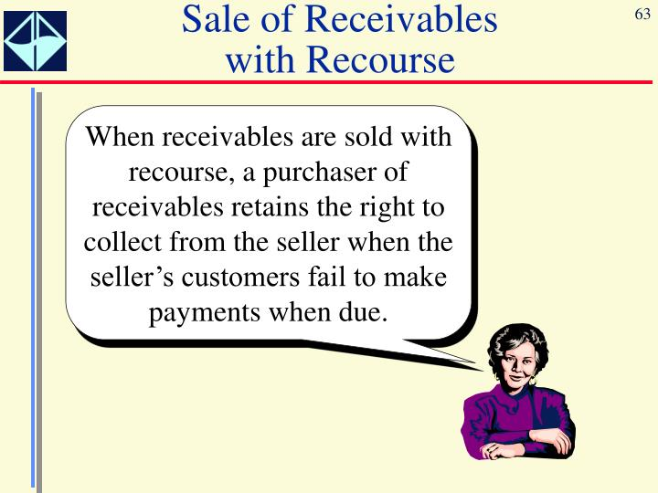 Sale of Receivables