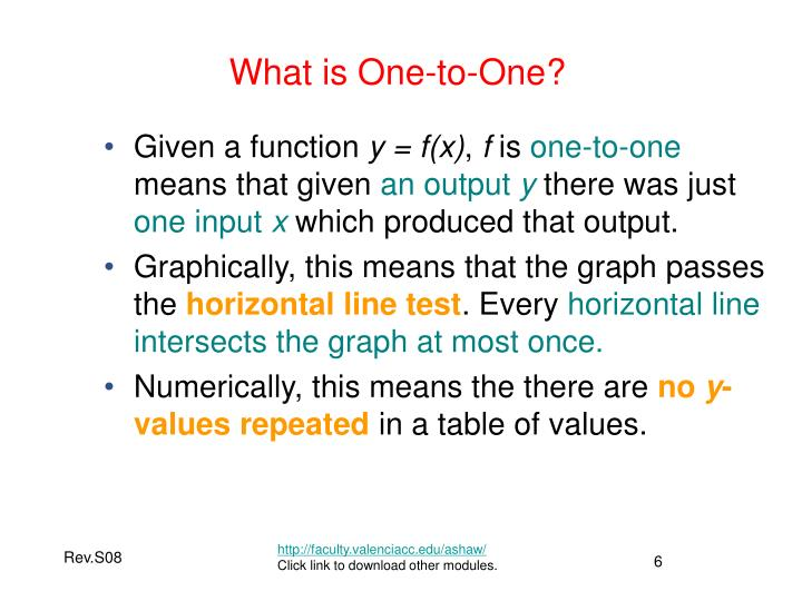What is One-to-One?