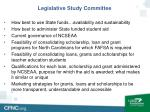 legislative study committee