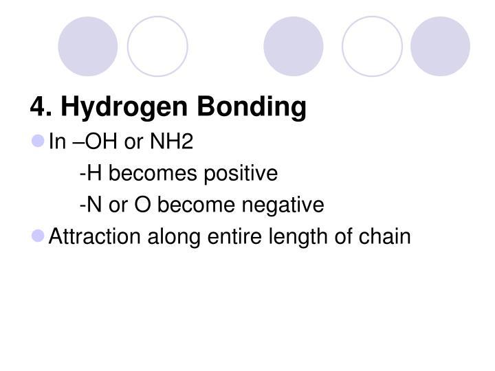 4. Hydrogen Bonding