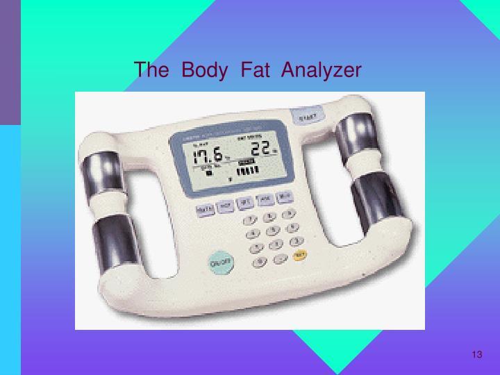 The  Body  Fat  Analyzer