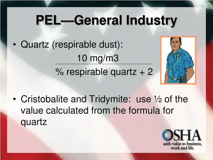 PEL—General Industry