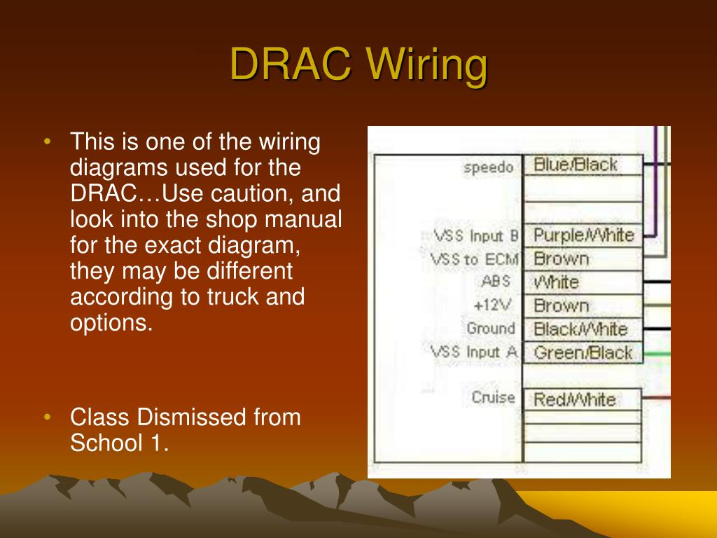 drac wiring • this is one of the wiring diagrams used for the drac…use  caution, and look into the shop manual for the exact diagram, they may be  different