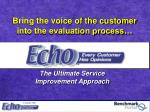 the ultimate service improvement approach