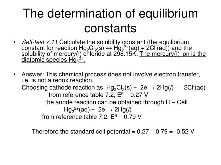 determination of the solubility product constant for Determination of the solubility product constant for calcium sulfate: the effect of ionic strengths of electrolyte solutions.