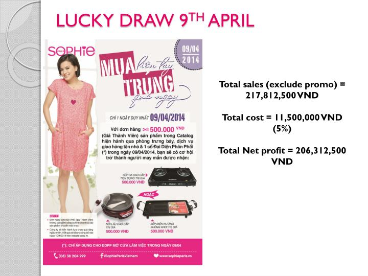 LUCKY DRAW 9