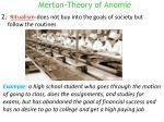 merton theory of anomie1