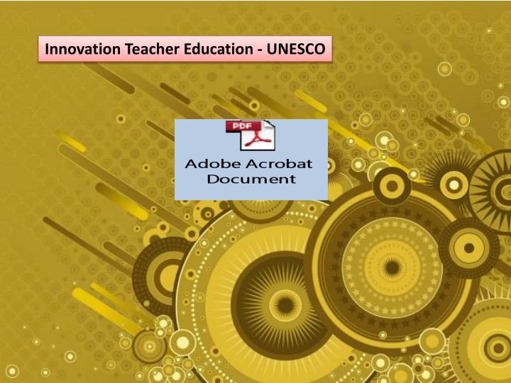 Innovation Teacher