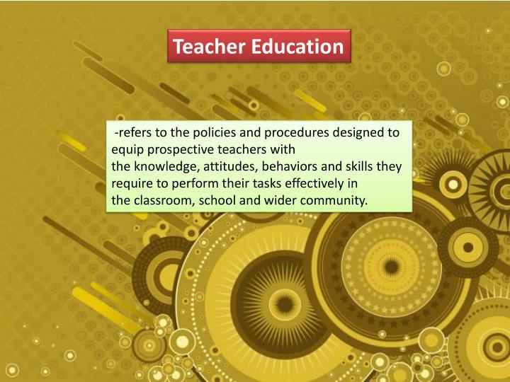 Teacher E