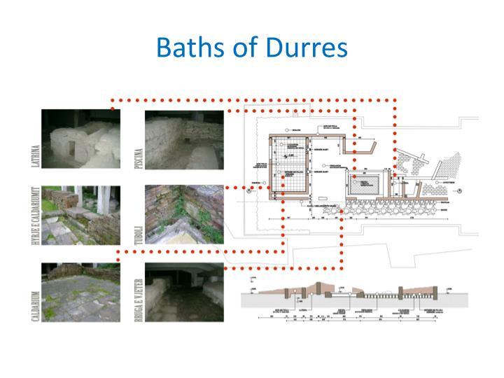 Baths of Durres