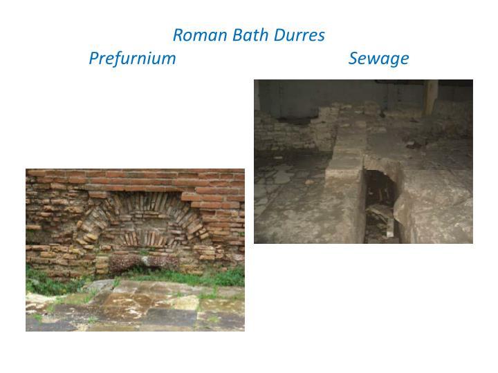 Roman Bath Durres