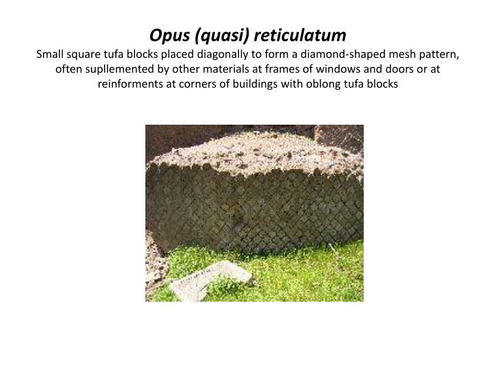 Opus (quasi)