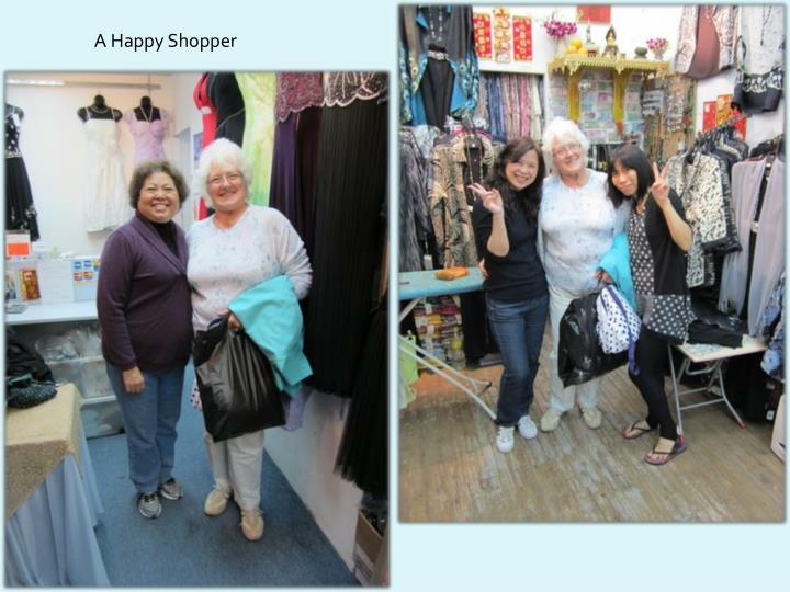 A Happy Shopper