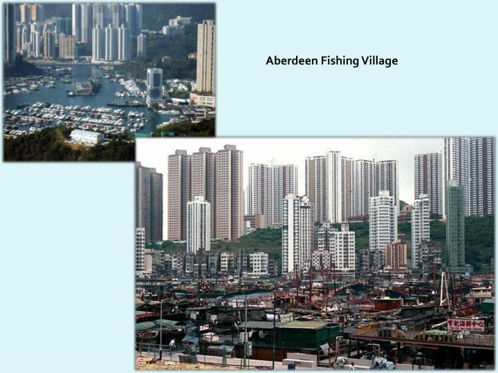 Aberdeen Fishing Village