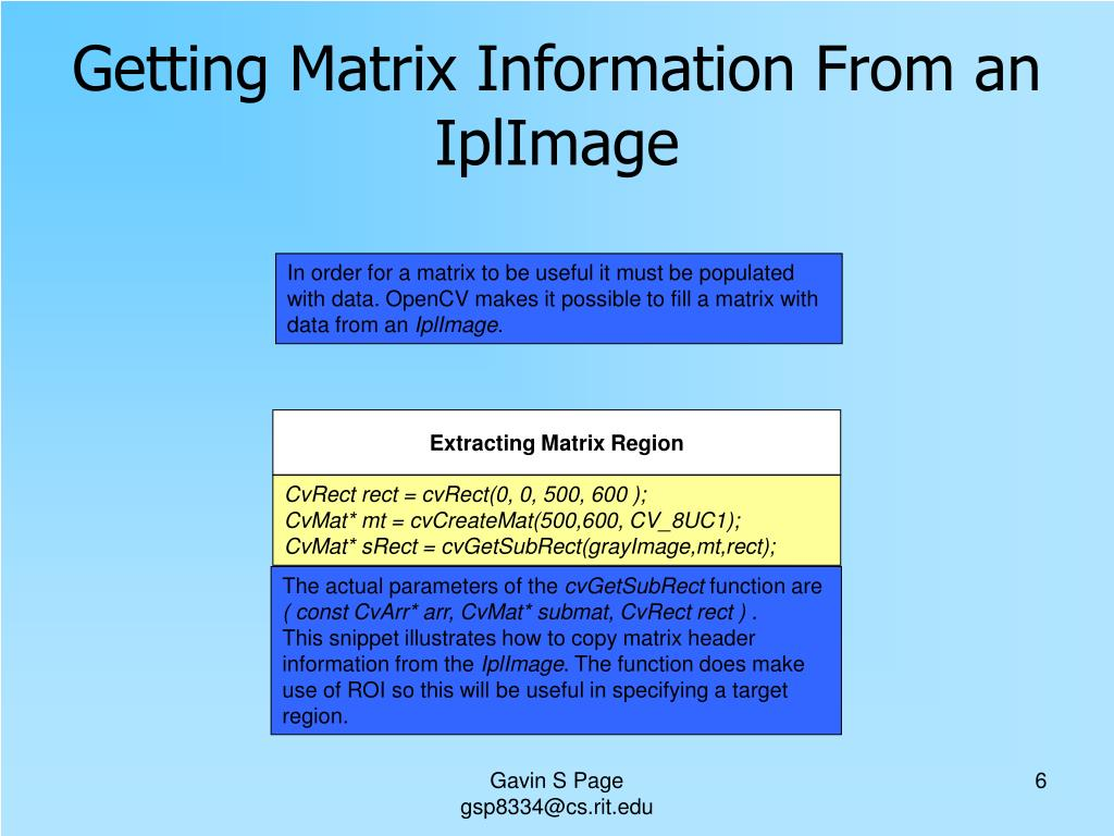 PPT - OpenCV Tutorial PowerPoint Presentation - ID:2974068