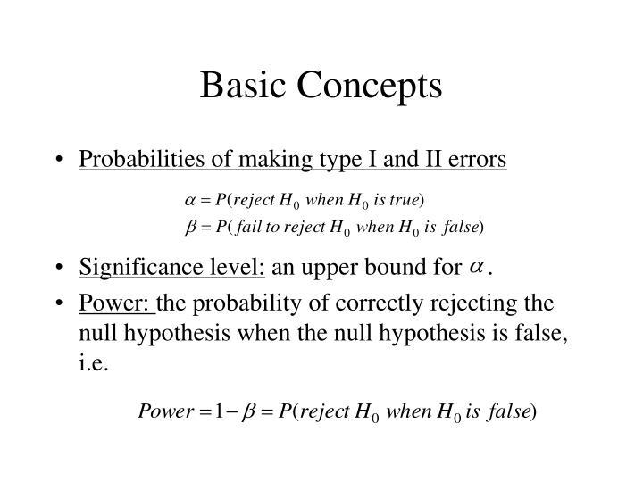 Basic concepts1