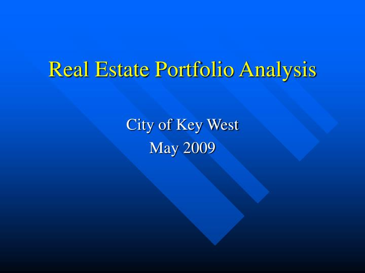 key issues relative to portfolio analysis Swot analysis was originally conceived and developed in the 1960s and its  the key issues and  that is, not to assess them relative to the.