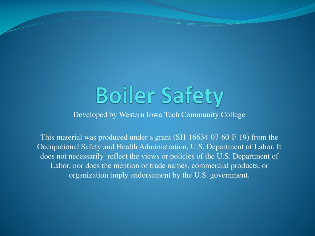 PPT - Boiler Safety PowerPoint Presentation - ID:2974301