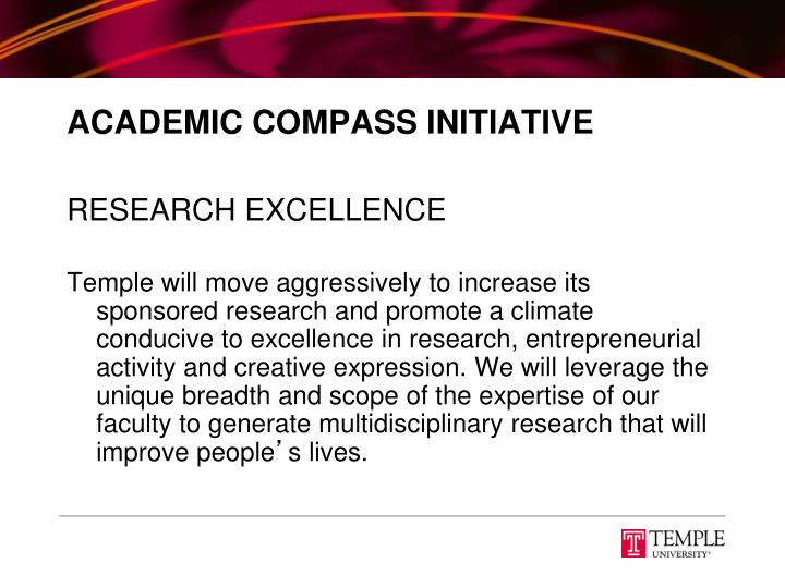 Academic compass initiative