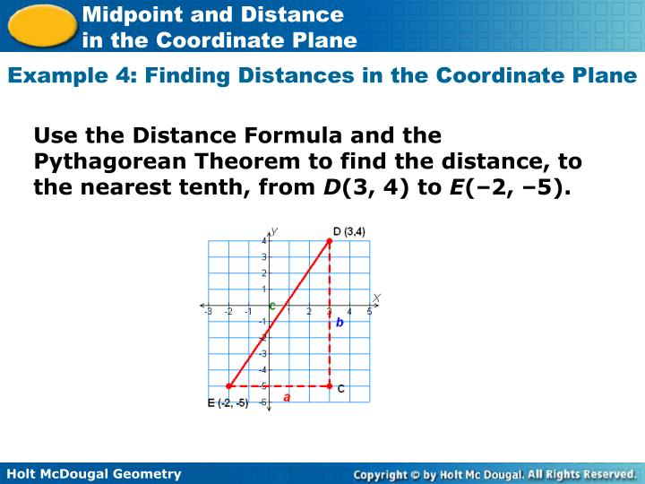 how to find the midpoint between coordinates
