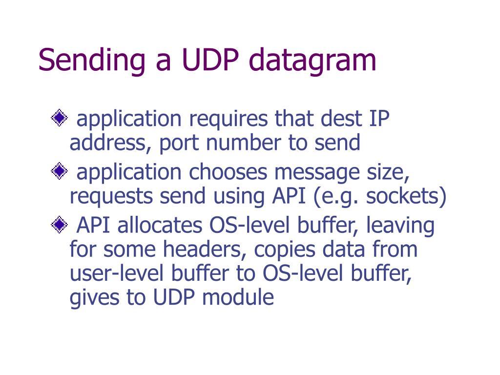 PPT - TCP/UDP/IP PowerPoint Presentation - ID:2975385