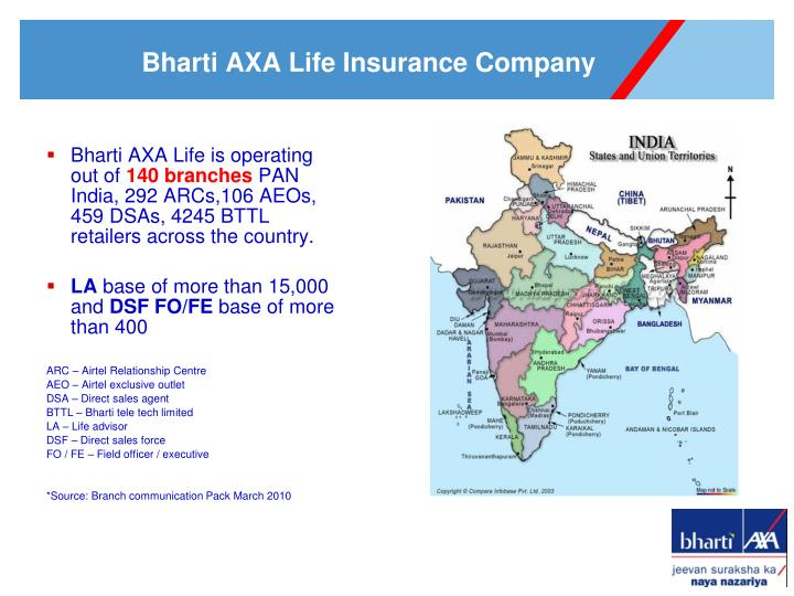 Bharti AXA Life is o
