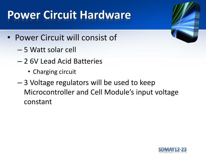 Power Circuit Hardware