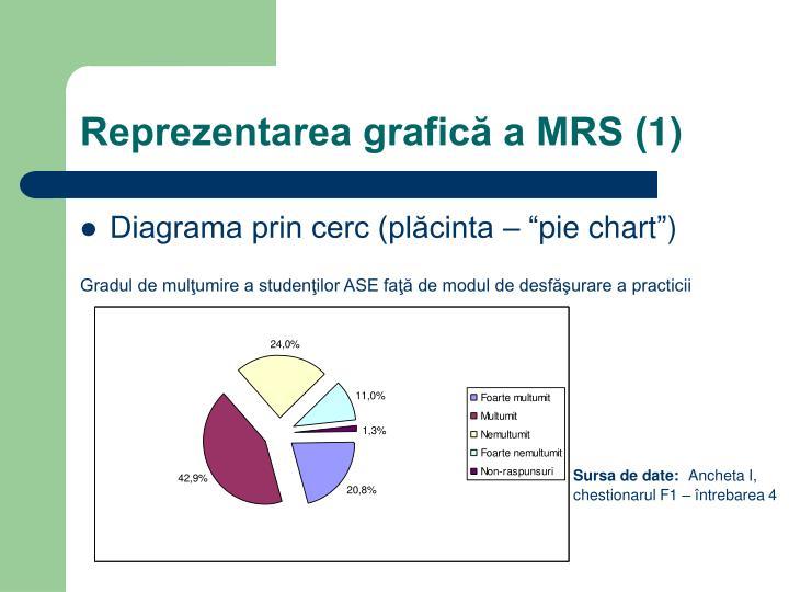 Reprezentarea grafică a MRS (1)