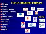french industrial partners